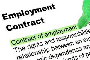 caregivers employment contract